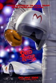 Speed says, Always wear your helmet! Especially when watching my movie!